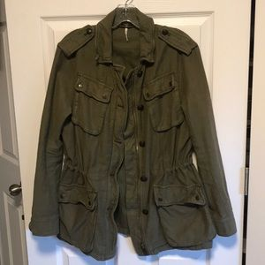Free People Cargo Jacket